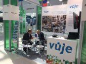 VUJE na svetovom fóre jadrovej energetiky AtomExpo 2018 v Soči. Podpredseda predsatvenstva Peter Líška a zástupca pre Rusko a Ukrajinu Valerij Grišin.