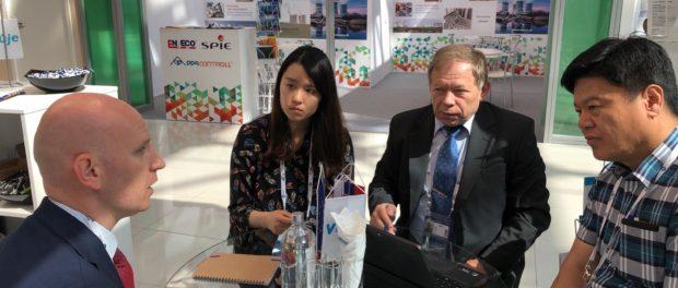 Zástupcovia VUJE pri rokovniach o spolupráci s Ilhwanom Kimom, generálnym manažérom Korea Nuclear Association for International Cooperation.