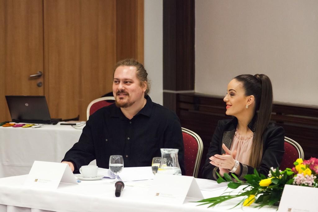 Boris Hanečka a Karin Haydu