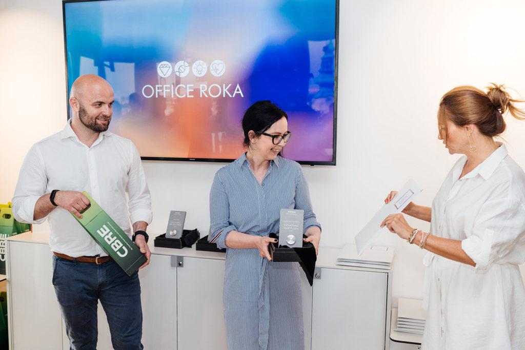 Cenu v kategórii Inovatívna kancelária získala spoločnosť Microsoft Slovakia.