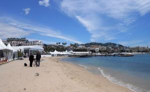 Cannes stanový tábor