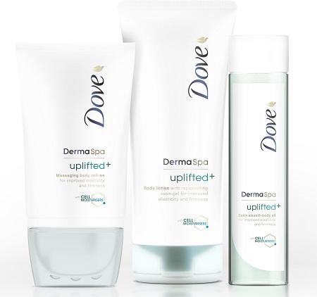 Dove DermaSpa Uplifted Family zm
