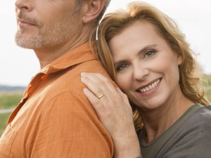 Close up Of Mature Couple
