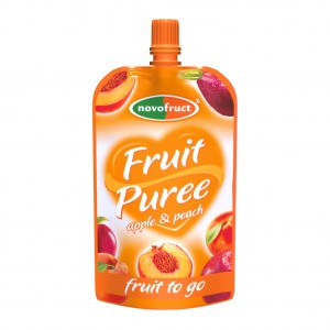 Fruit puree_appleandpeach, jablkobroskyna 120 g