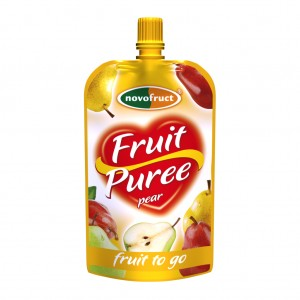 Fruit puree_pear, hruškové 120g