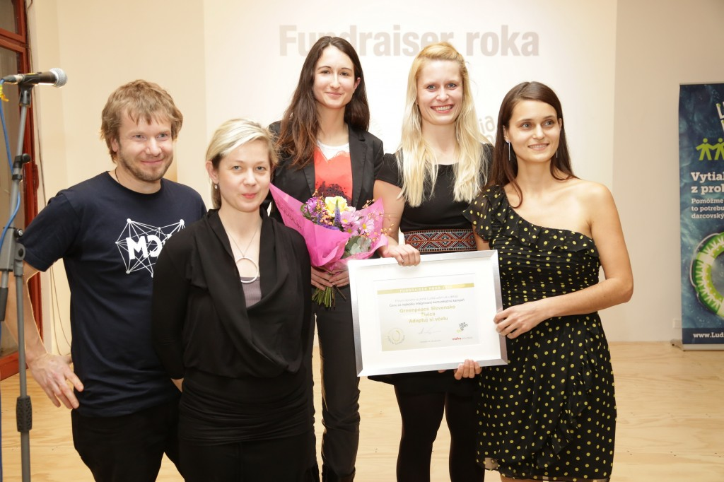 Fundraiserom roka sa stal projekt Greenpeace a Živice