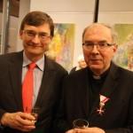 Marian Cerveny spolu    s veľvyslancom27.januárti