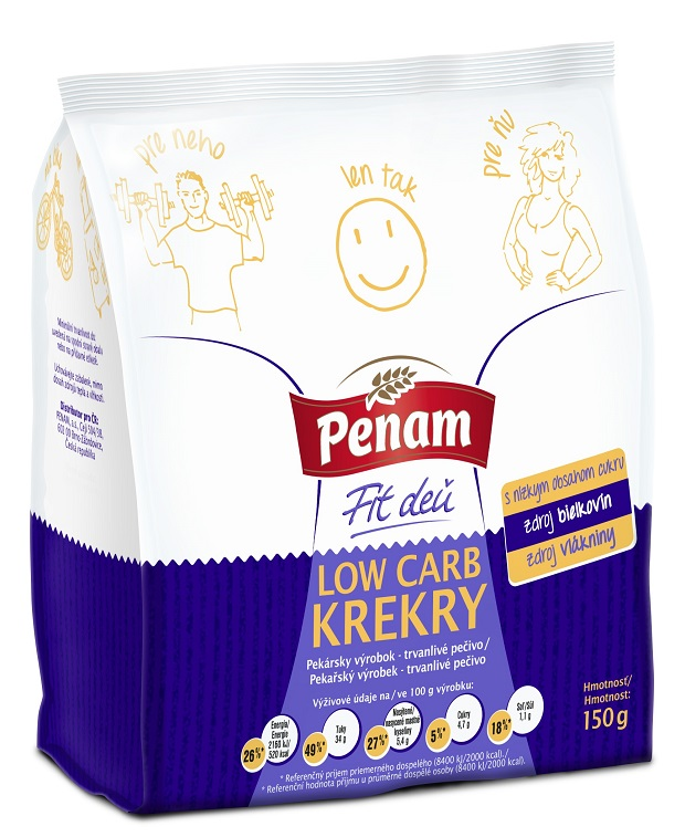 Penam Low carb krekry