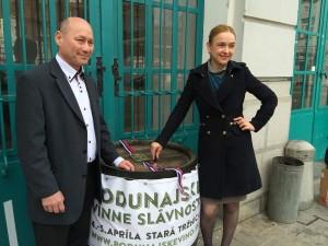 Podunajske vinne slavnosti Stanova, Stumpf_ zm
