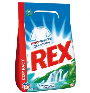 Rex Prášok Amazonia Freshness 20 praní zm