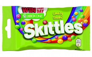 Skittles Crazy Sours 3D 38g XBOX