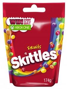 Skittles Fruit 3D 174g XBOX