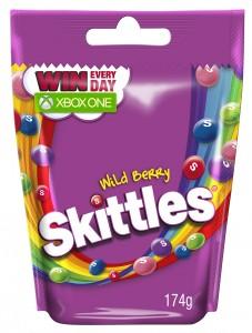 Skittles Wild berry 3D 174g XBOX