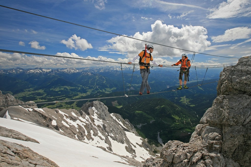 Steiermark Klettersteig Dachstein (c) www.photo-austria.at Herbert Raffalt