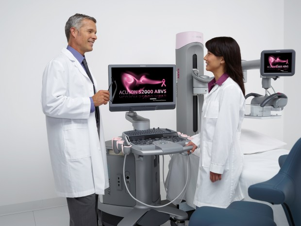 ABVS Helx System with Screensaver and Two Doctors