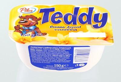 Teddy tvarohovy dezert vanilkovy zm