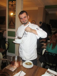 Zimny festival jedla, kuchar 1