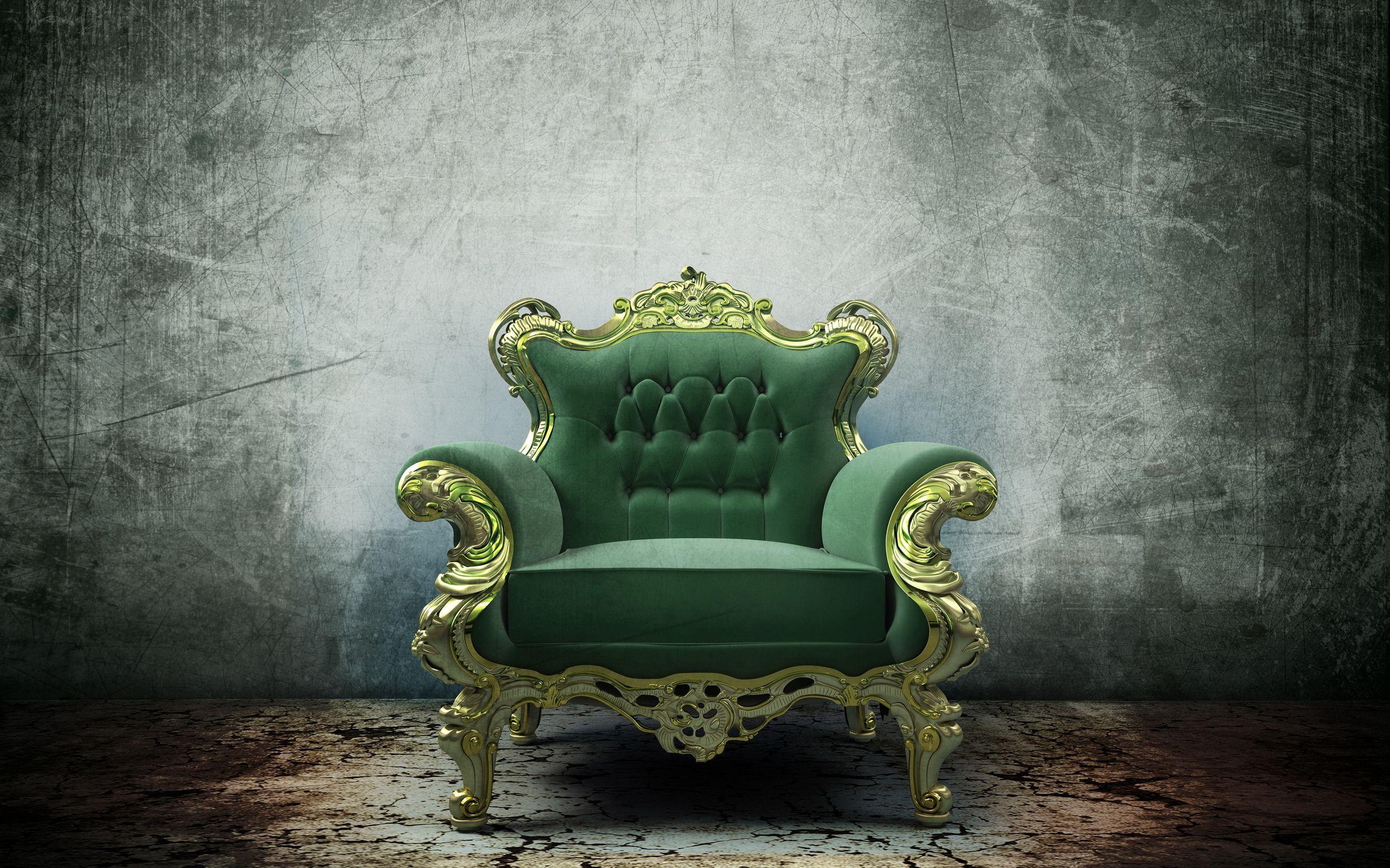 Goede bureaustoel groen