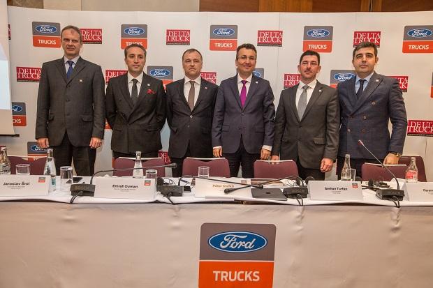 Zástupcovia spoločností Ford Trucks a Delta-Truck